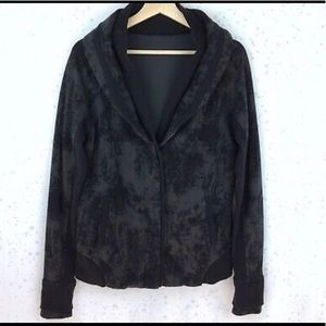 "Lululemon Women's Black ""To Class Jacket Sweater"""